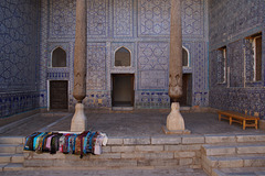 Khiva Kunya Ark Reception Hall