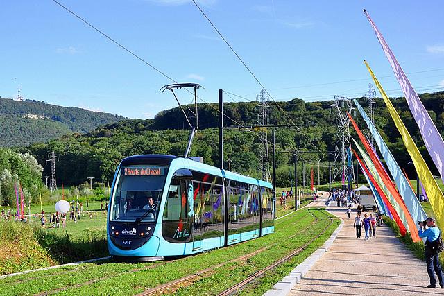 Besançon inaugure son tramway !