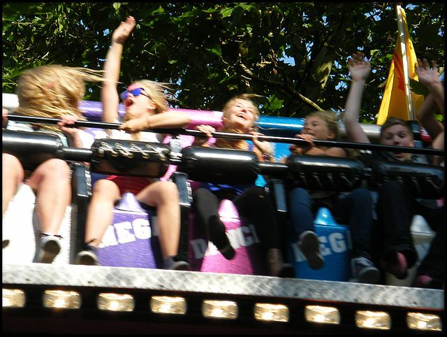 hairy fairground ride