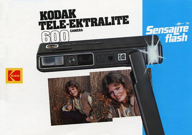 Kodak Tele-Ektralite 600 Manual Cover