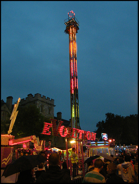 fairground illuminations