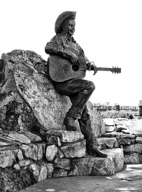 The Rex Allen Statue