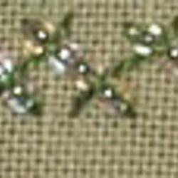 #125 - Beaded Herringbone stitch