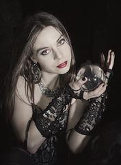 Modelo: Ninah Danza (Laura Fraganillo)