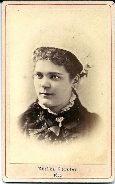 Etelka Gerster by Schmidt