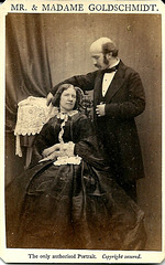 Jenny Lind & Otto Goldschmidt by Murray