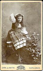Marie Geistinger by Carl & Witt