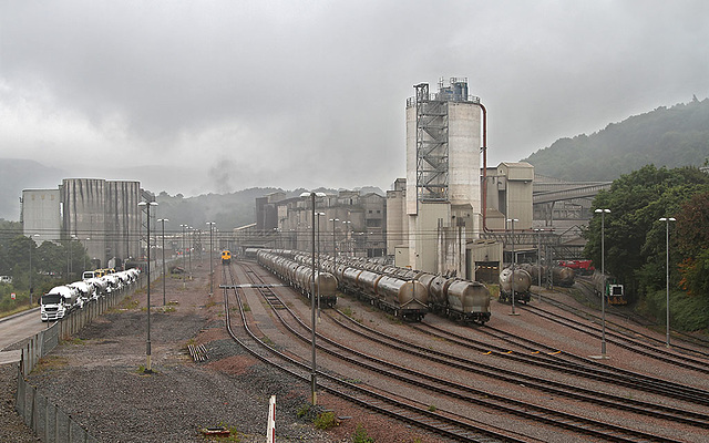 Hope Cement Works sidings