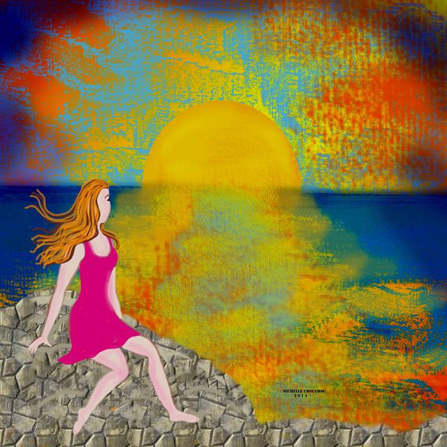 Ella y el mar II