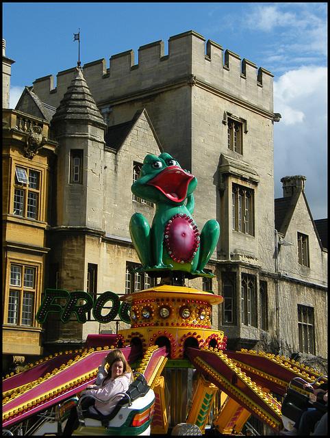 Froggit ride