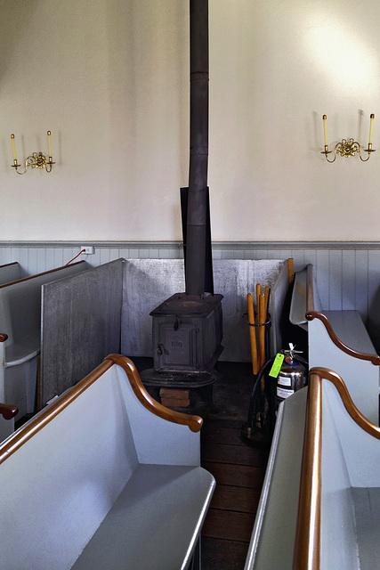 The Wood Stove – Old Dutch Church of Sleepy Hollow, Tarrytown, New York