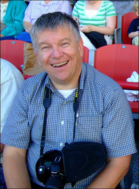 Joe at the Ballpark