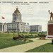 4235. Provincial Parliament, Buildings and Soldiers' Monument, Winnipeg, Manitoba