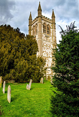 Tower of Church of St Andrew Farnham