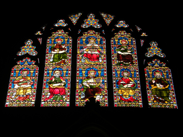 Keble Chapel window