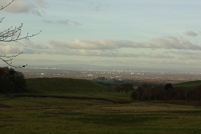 Lyme Park - panorama North