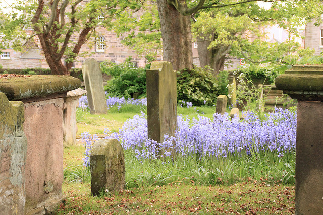 In the most northerly English Churchyard