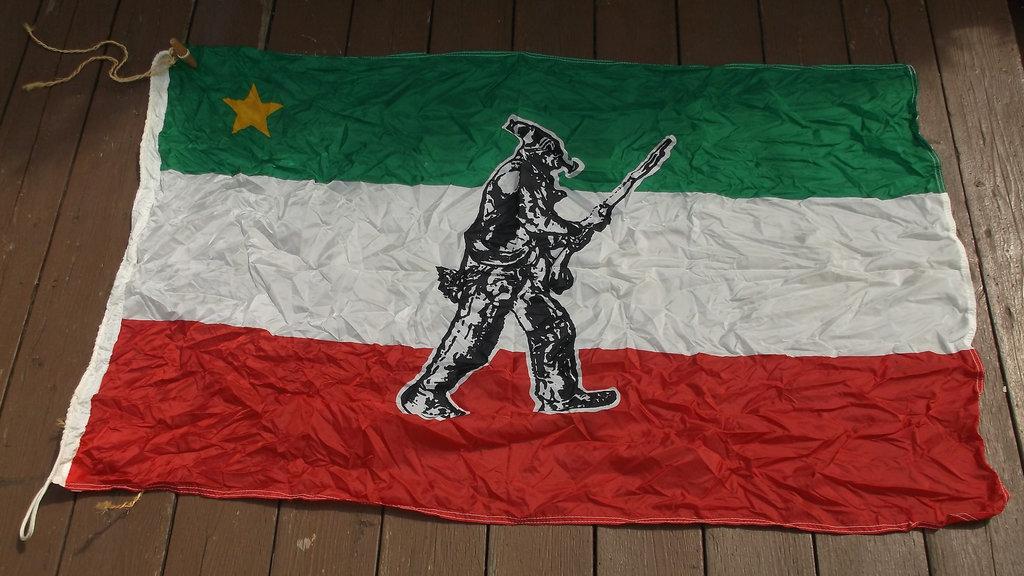 Drapeau des Patriotes /Patriots flag.