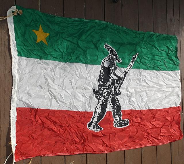 Drapeau des Patriotes /Patriots flags.