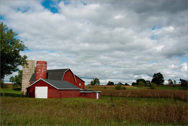 Barn, with Sky