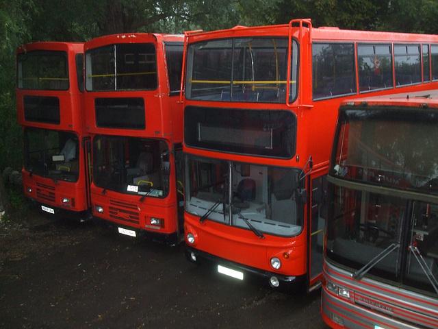 DSCF5783 Mulleys Motorways H604 LNA, J167 UNH, X179 CHJ and F92 KEC