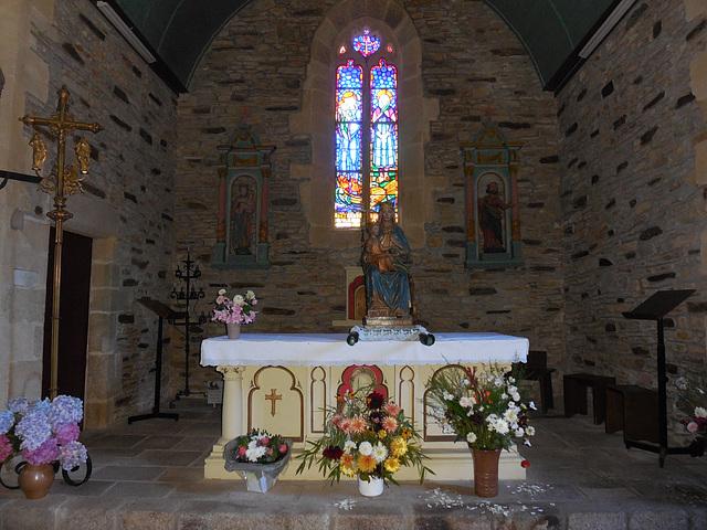 Chapelle ND de Lanriot Moelan sur mer