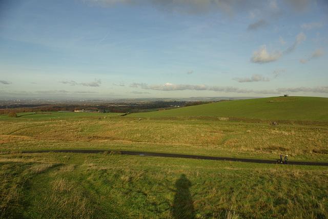 Lyme Park - panorama North