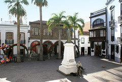 Santa Cruz de La Palma, An der Plaza de Espana 3. Rathausplatz.  ©UdoSm
