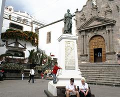 Santa Cruz de La Palma, An der Plaza de Espana 4. ©UdoSm
