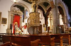Santa Cruz de La Palma, Kirche El Salvador 2. ©UdoSm