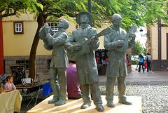 Santa Cruz de La Palma, 'Musikanten'. ©UdoSm