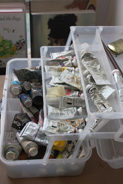 The artist's materials