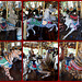 Burlington NC Dentzel Carousel 4-10-14 Collage ~ The Gallopers