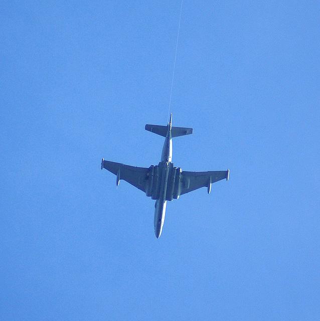 Nimrod - flying up Longdendale