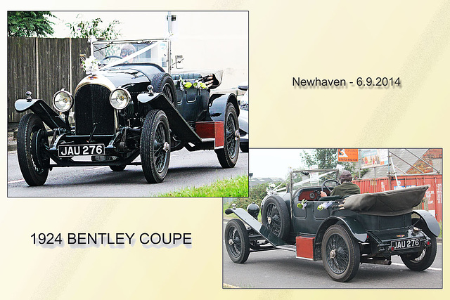 Bentley Coupe 1924 - Newhaven - 6.9.2014
