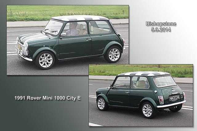 Rover Mini 1000 City E  - Bishopstone - 5.9.2014
