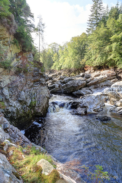 River Findhorn at Randolph's Leap