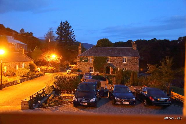 The Port-na-Craig Inn, pre-dawn