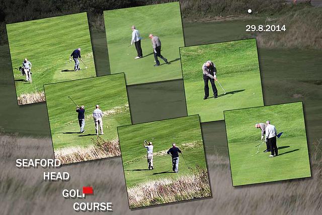 Seaford Head Golf Course - 29.8.2014