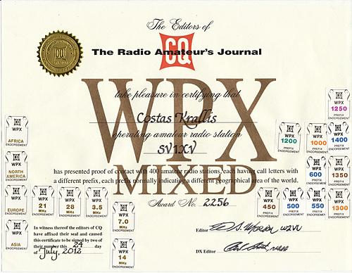 CQ WPX Mixed (1400 pfx)