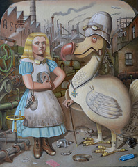 Liddell & Boyd (Alice in the looking glass works) by Karl Beutel 2011