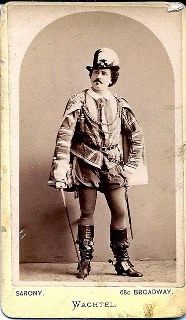 Theodor Wachtel by Sarony