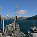 RFA GOLD ROVER entering Loch Striven