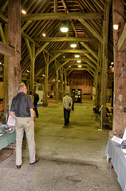 The Great Barn, Wanborough, Surrey - interior