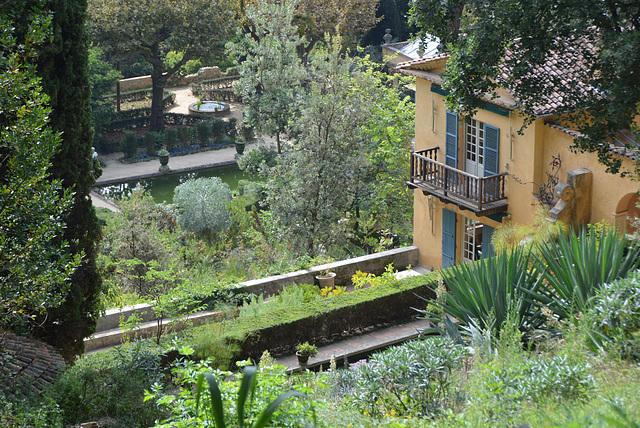 villa de Laurence Johnstone, serres de la Madonne