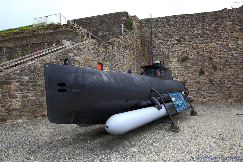Sous-marin S622 - 1944_Château de Brest_Bretagne