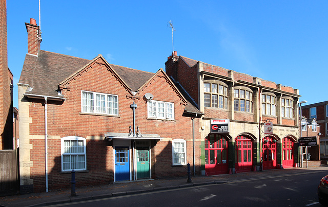 Former Fire Station of 1903, Market Harborough