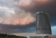 Torre del Agua - c/w stormy sky