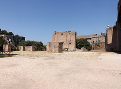 The Interior of the Basilica of Constantine in the Forum Romanum, July 2012