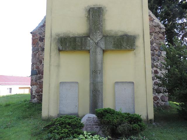 Denkmäler Weltkriege in Merzdorf